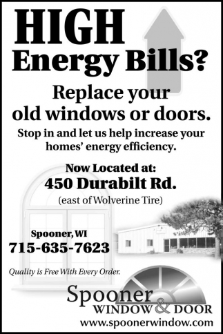 HIGH Energy Bills?