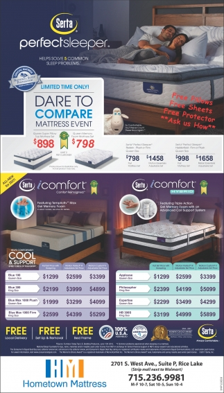 Dare to Compare Mattress Event