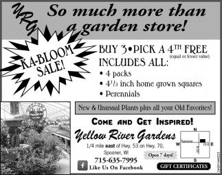 KA-Bloom Sale!