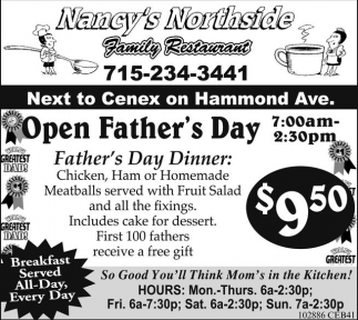 Open Father's Day
