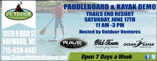 Paddleboard & Kayak Demo