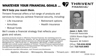 Whatever your financial goals...