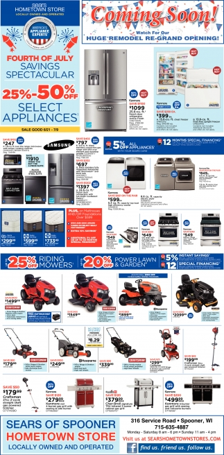 4 of July Savings Spectacular