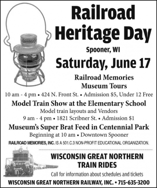 Railroad Heritage Day