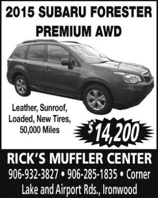 2015 Subaru Forester Premium AWD