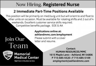 Registerd Nurse
