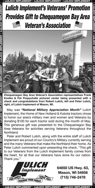 Veterans' Promotion