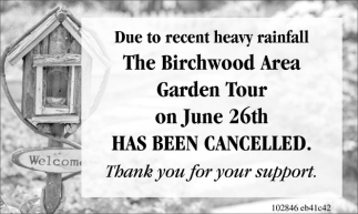 Birchwood Area Garden Tour
