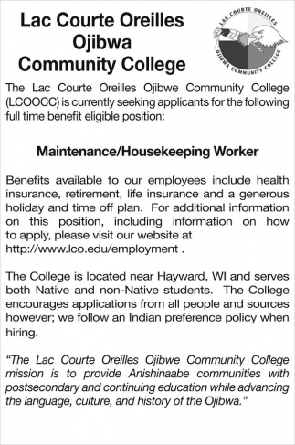 Maintenance/Housekeeping Worker