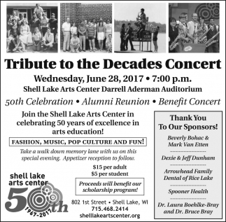 Tribute to the Decades Concert