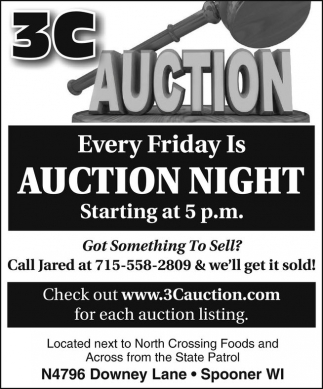 Every Friday Is Auction Night