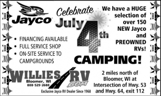 Celebrate July 4th Camping