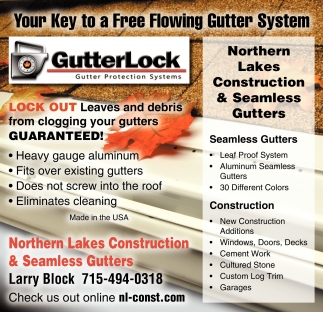 Your Key to a Free Flowing Gutter System