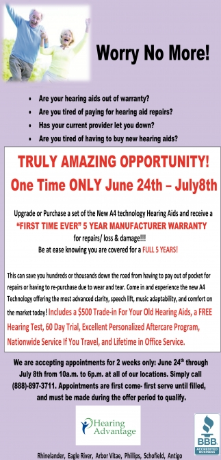 Truly Amazing Opportunity!