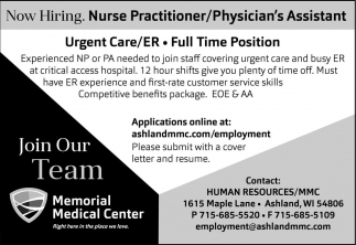 Nurse Practitioner / Physician's Assistant