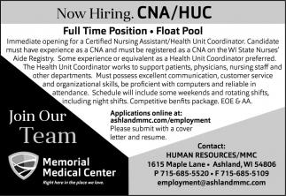 CNA / HUC