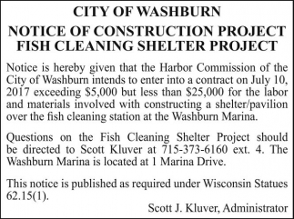 Notice of Construction Project