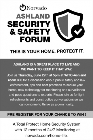Ashland Security & Safety Forum