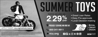 Summer Toys. Rates as low as 2.29%