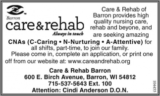 Ponca City Nursing Home Rehab