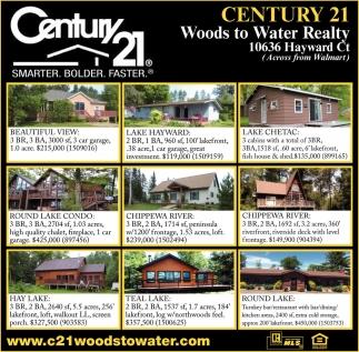 Amazing Smarter, Bolder, Faster, Century 21 Woods To Water Realty   Hayward, Stone  Lake, Stone Lake, WI