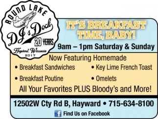 It's Breakfast Time, Baby!