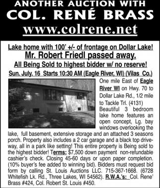 Lake Home on Dollar Lake