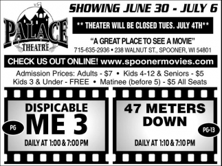 Despicable Me 3 - 47 meters down