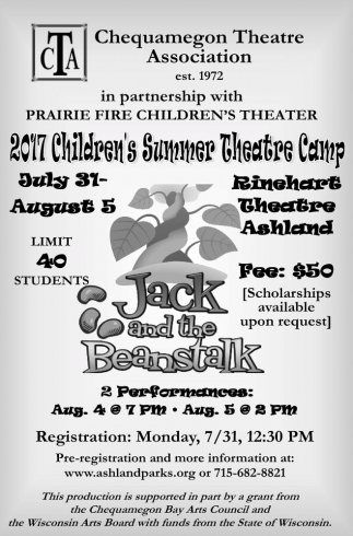 2017 Children's Summer Theatre Camp