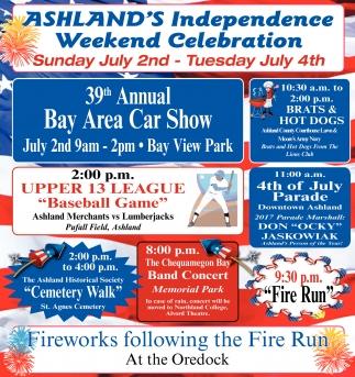 Ashland's Independence Weekend Celebration