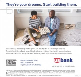 Theyre your dreams start building them us bank rice lake rice theyre your dreams start building them us bank rice lake rice lake wi malvernweather Choice Image