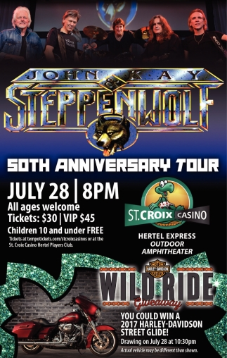 John Kay Steppenwolf South Anniversary Tour