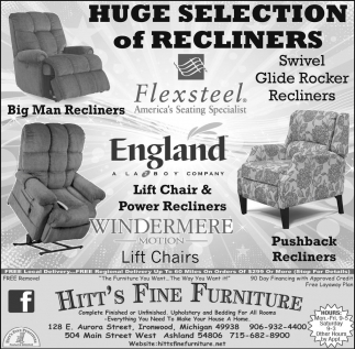 Huge Selection of Recliners