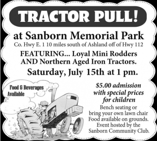 Tractor Pull!