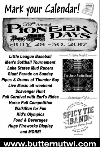 59th Annual Pioneer Days