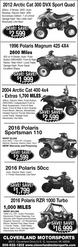 Arctic Cat, Polaris