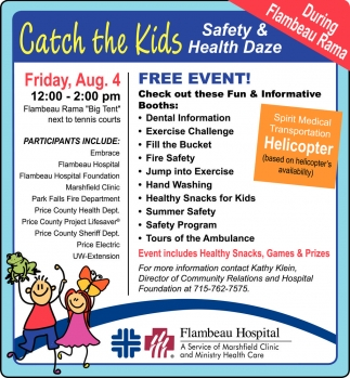 Catch The Kids Safety & Health Daze