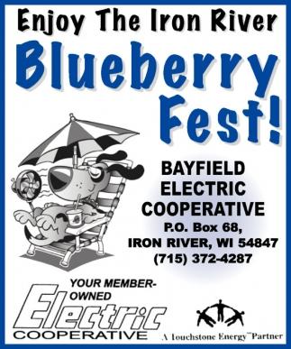 Enjoy The Iron River Bluberry Fest!