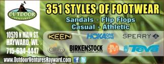 351 Styles of Footwear
