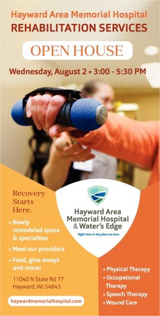 Rehabilitation Services Open House