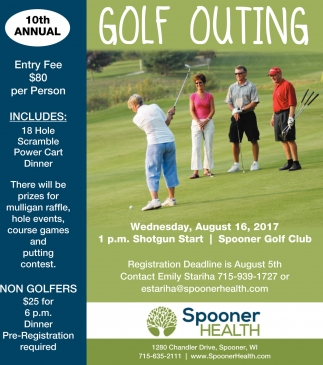 10th Annual Golf Outing