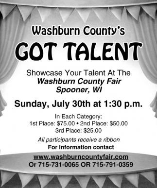 Washburn County's Got Talent