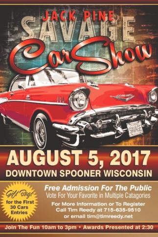 Jack Pine Savage Car Show