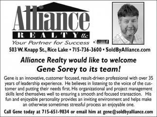 Welcome Gener Sorey