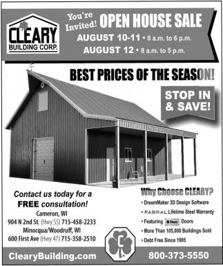 Open House Sale