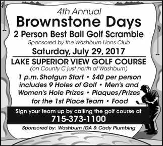 4th Annual Brownstone Days