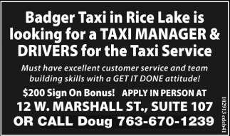 Taxi Manager & Drivers