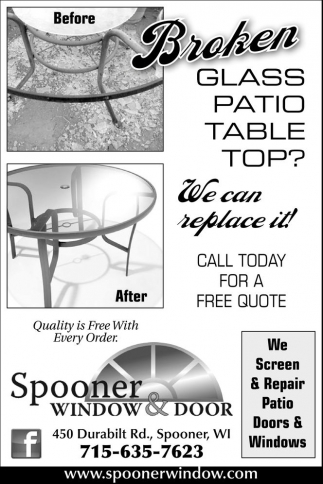 We Screen & Repair Patio Doors & Windows