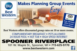 Makes Planning Group Events