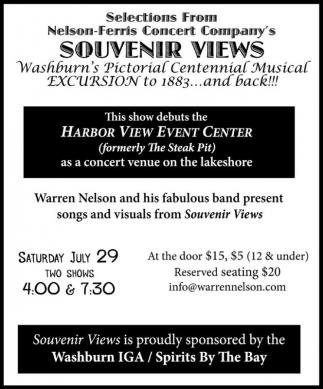 Nelson-Ferris Concert Company's Souvenir Views